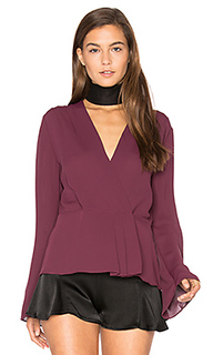 Layla pleated wrap blouse - Elizabeth and James