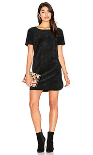 Reya faux suede dress - Velvet by Graham & Spencer