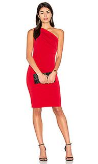 Миди платье на одно плечо elly - Velvet by Graham & Spencer
