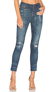 Узкие джинсы с высокой посадкой shiko - TORTOISE