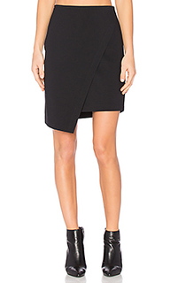 Asymmetrical cross front skirt - 1. STATE