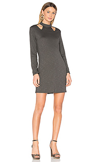 Cutout turtleneck dress - Lanston