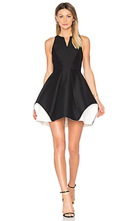 Notch neck dress - Halston Heritage