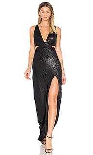 Вечернее платье с пайетками - Halston Heritage