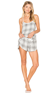 Oxford plaid cami & short set - Bella Dahl