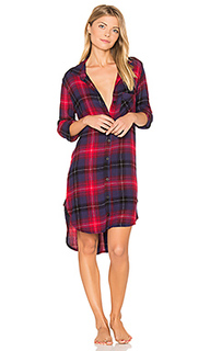 Mercer plaid sleep shirt - Bella Dahl