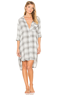 Oxford plaid sleep shirt - Bella Dahl