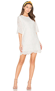 Scalloped mini dress - Bishop + Young