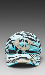 Zebra cap - True Religion