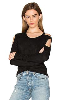 Утепленная футболка с вырезами на плечах - Chaser