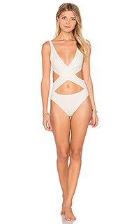 The poppy wrap one piece - Solid & Striped