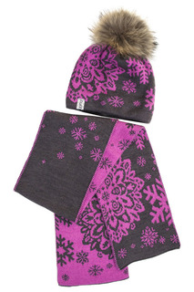 Комплект: шапка, шарф FLUFFY SHOPS