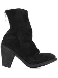 ботинки на высоком каблуке Guidi