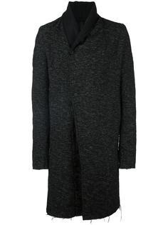 пальто с необработанными краями Poème Bohémien