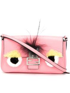 микро сумка через плечо 'Baguette' Bag Bugs Fendi
