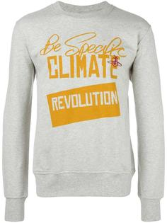 футболка с принтом 'revolution' Vivienne Westwood Man