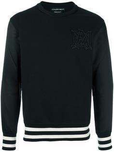 logo appliqué sweatshirt Alexander McQueen