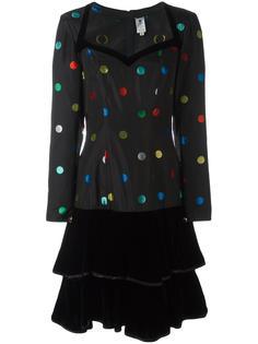 платье с узором в горох Emanuel Ungaro Vintage