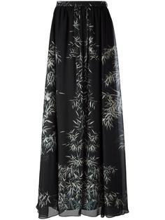 длинная юбка с растительным принтом Philosophy Di Lorenzo Serafini