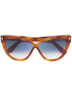 """солнцезащитные очки с оправой """"кошачий глаз"""" Tom Ford Eyewear"""