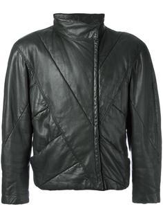 укороченная куртка с панельным дизайном Versace Vintage