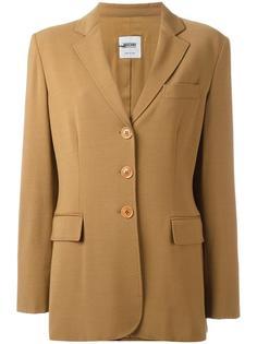 пиджак с застежкой на пуговицы Moschino Vintage