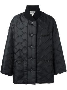 укороченное стеганое пальто Issey Miyake Vintage