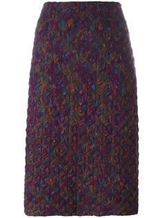 вязаная юбка-карандаш Missoni Vintage
