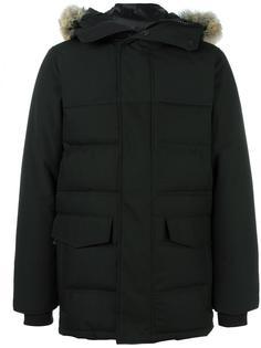 куртка-пуховик 'Clarence' с мехом койота Canada Goose