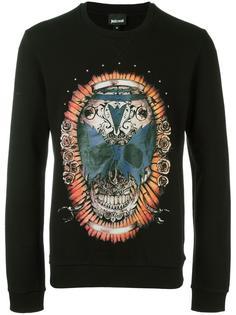 skull print sweatshirt  Just Cavalli