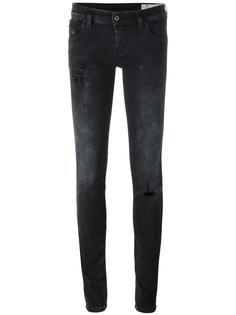 эластичные джинсы скинни Diesel