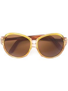 солнцезащитные очки с массивной оправой Yves Saint Laurent Vintage