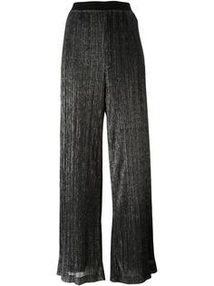 плиссированные брюки палаццо Ermanno Scervino