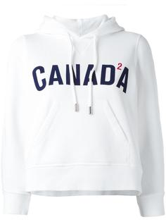 Canada cropped hoodie Dsquared2