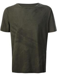 футболка с принтом руки Maison Margiela