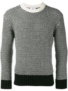 свитер с контрастной отделкой Ami Alexandre Mattiussi