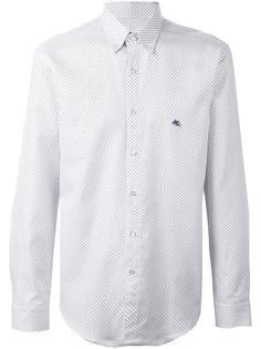 рубашка на пуговицах с вышивкой Etro