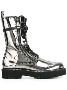 ботинки с металлическим отблеском Dolce & Gabbana