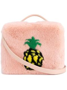сумка на плечо с принтом ананаса Natasha Zinko