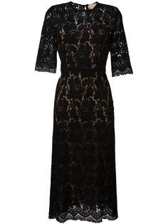 кружевное платье Erika Cavallini