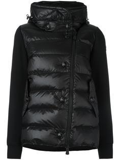 стеганая куртка с воротником-воронкой Moncler Grenoble
