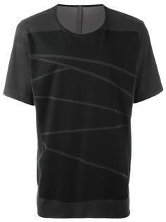 футболка с принтом Attachment