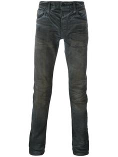 джинсы кроя слим с эффектом потертости Mastercraft Union