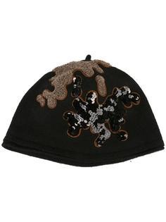 шапка с пайетками Le Chapeau