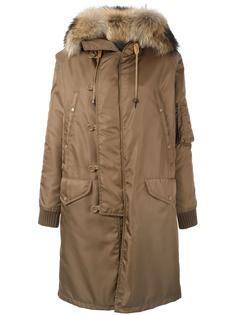 пальто с капюшоном As65