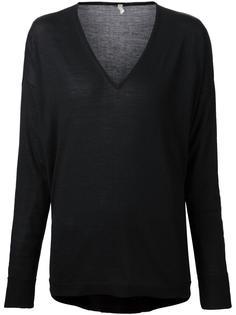свитер с V-образным вырезом 6397