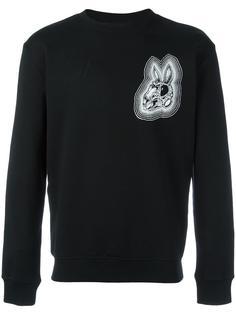 bunny print sweatshirt McQ Alexander McQueen