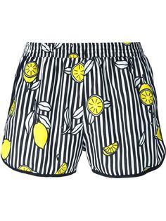 полосатые шорты для плавания Ami Alexandre Mattiussi