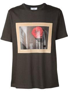 футболка с фото-принтом Ami Alexandre Mattiussi