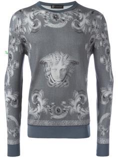 джемпер 'Lenticular Foulard'  Versace